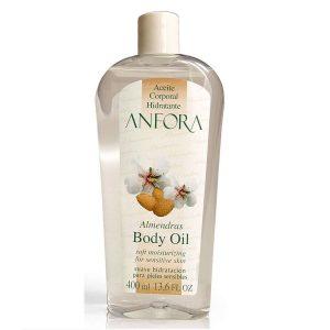 Aceite de almendras hidratante para el pelo y el cuerpo