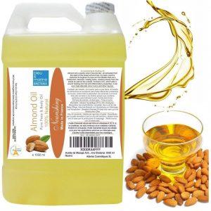Aceite de almendras nutritivo para el pelo