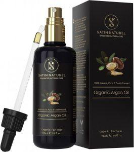 Aceite de argán ecológico para el pelo
