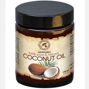 Aceite de coco pelo nutritivo