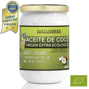 Aceite de coco pelo orgánico