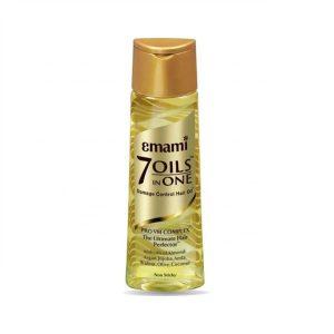 Aceite de oliva para el pelo con siete ingredientes