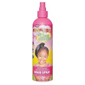 Aceite de oliva para el pelo infantil
