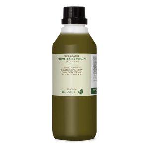 Aceite de oliva para el pelo natural