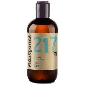 Aceite de ricino para el pelo natural