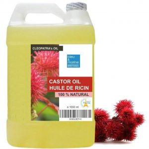 Aceite de ricino para el pelo y pestañas