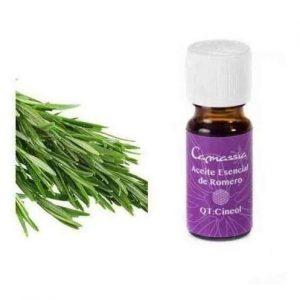Aceite esencial de romero para el cabello