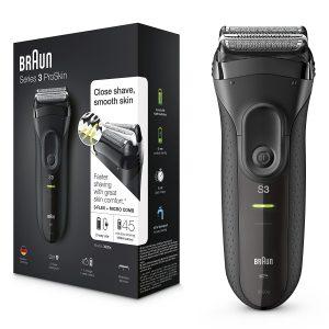 Afeitadora Braun recargable