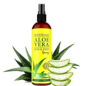 Aloe vera para el pelo en Spray
