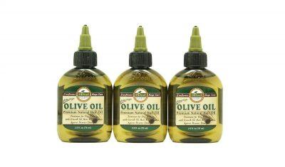 Aceites de oliva para el pelo