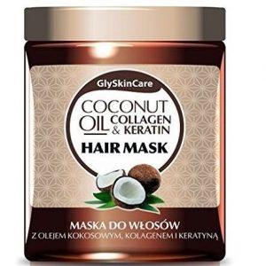 Mascarilla para el pelo con aceite de coco