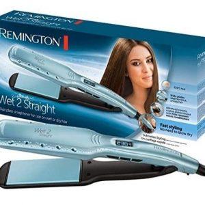 Plancha de pelo a vapor Remington Wet