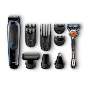 Recortadora de barba Braun multifunción