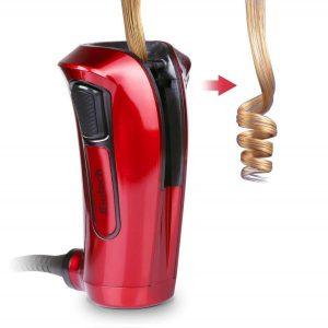 Rizador de pelo automático con cuatro temporizadores