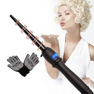 Rizador de pelo con cable giratorio