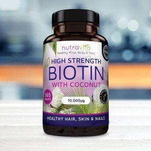 Suplemento de vitaminas para el crecimiento del cabello