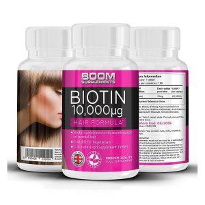 Vitamina para el crecimiento capilar
