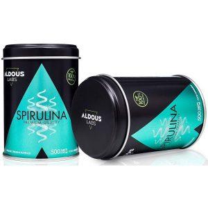 Vitamina para el pelo de espirulina ecológica
