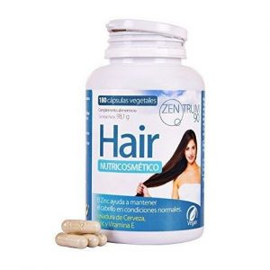 Vitaminas para el pelo con levadura de cerveza