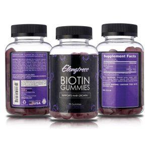 Vitaminas para el pelo en forma de gomitas